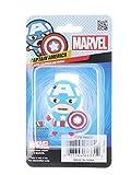 Marvel Capitán América - Llavero de Clip de uñas de Tacto Suave, Talla única, Multicolor