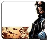 Custom Captain America Bucky Winter Soldier V11 Marvel Comics Mouse Pad