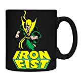 Surreal Entertainment Officially Licensed Marvel Superhero Iron Fist Coffee Molded Mug, 16 oz