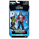 Marvel Figura Star-Lord Guardians of The Galaxy Legends, 6 Pulgadas