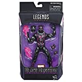 Marvel Figura de Accion Black Panther con Traje de Vibranium, Marvel Series, 6'