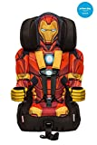 KidsEmbrace Iron Man Booster Car Seat, Marvel Avengers Combination Seat, 5 Point Harness, Red,...