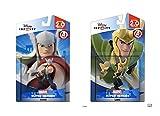 Disney Infinity Thor and Loki Marvel Avengers Super Heroes 2.0 Bundle - Not Machine Specific