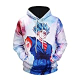 Jandz] Camisas Unisex Dragon Ball, diseños de Cosplay, Otaku, Manga, Anime, Historieta (Medium,...