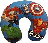 Marvel Avengers Ironman - Almohada Decorativa de 28 x 28 cm, Avengers Neck Blue, Mediano, 1