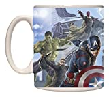 Avengers Marvel Comics Age of Ultron Avengers in Action Ceramic Embossed Coffee Tea Mug - 22 OZ