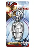 Marvel Iron Man - Llavero de peltre con 3 cabezas