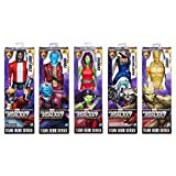 Hasbro HSBC0078 12 in. Guardians of the Galaxy Titan Hero Series44; Assorted Colors - Set of 8