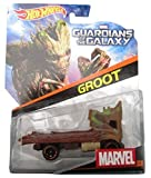Hot Wheels, Marvel Guardians of the Galaxy Die-Cast Car, Groot #14, 1:64 Scale