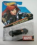 Hot Wheels Marvel Series 1:64 Black Widow Diecast Model Car