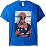 Marvel Deadpool - Playera para Hombre, Royal, Large
