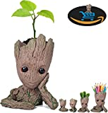 Black Friday Deals Cyber Lunday Deals-Creative Groot Macetero Guardianes de la Galaxia Flowerpot...