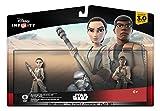 Disney Infinity - Star Wars: El Despertar de la Fuerza Play Set, Incluye las Figuras Rey y Finn -...