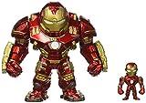 Jada Toys Metals Marvel 6' Classic Figure - Hulkbuster & 2' Ironman (M132) Toy Figure