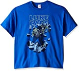 Marvel Luke Cage - Playera para Hombre, Royal, 3X-Large