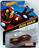 Hot Wheels, Marvel, Die-Cast Car, Iron Man #1, 1:64 Scale