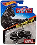 Hot Wheels, Marvel Character Car, Captain America: Civil War Black Panther Die-Cast Vehicle #27 by...