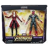 Avengers Figura de Accion Marvel Dúo Vision y Scarlet Witch