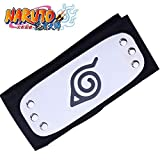 Naruto Cosplay Accesorio Leaf Village Black Leaf Village Headband Konohagakure Shinobi Stirnband...