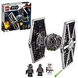 LEGO 75300 Star Wars Caza TIE Imperial, Juguete con Figuras de Stormtrooper y Piloto de la Saga...