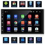 ANKEWAY Android 9.1 Radio de Coche 2 DIN Car Stereo 7 Pulgadas 1080P HD Pantalla Tctil+Llamadas...