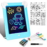 LAPPAZO Tableta de Dibujo Pizarra 3D Mgico con Luces LED Educativo Infantil Dibujo & Marco de Fotos...