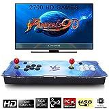 SeeKool Pandora's 9D Juegos clsicos Consola de Videojuegos, 2700 in 1 Multijugador Arcade Game...