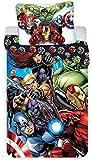 Marvel Avengers Superhelden - Dekbedovertrek - Eenpersoons -140 x 200 cm - Multi