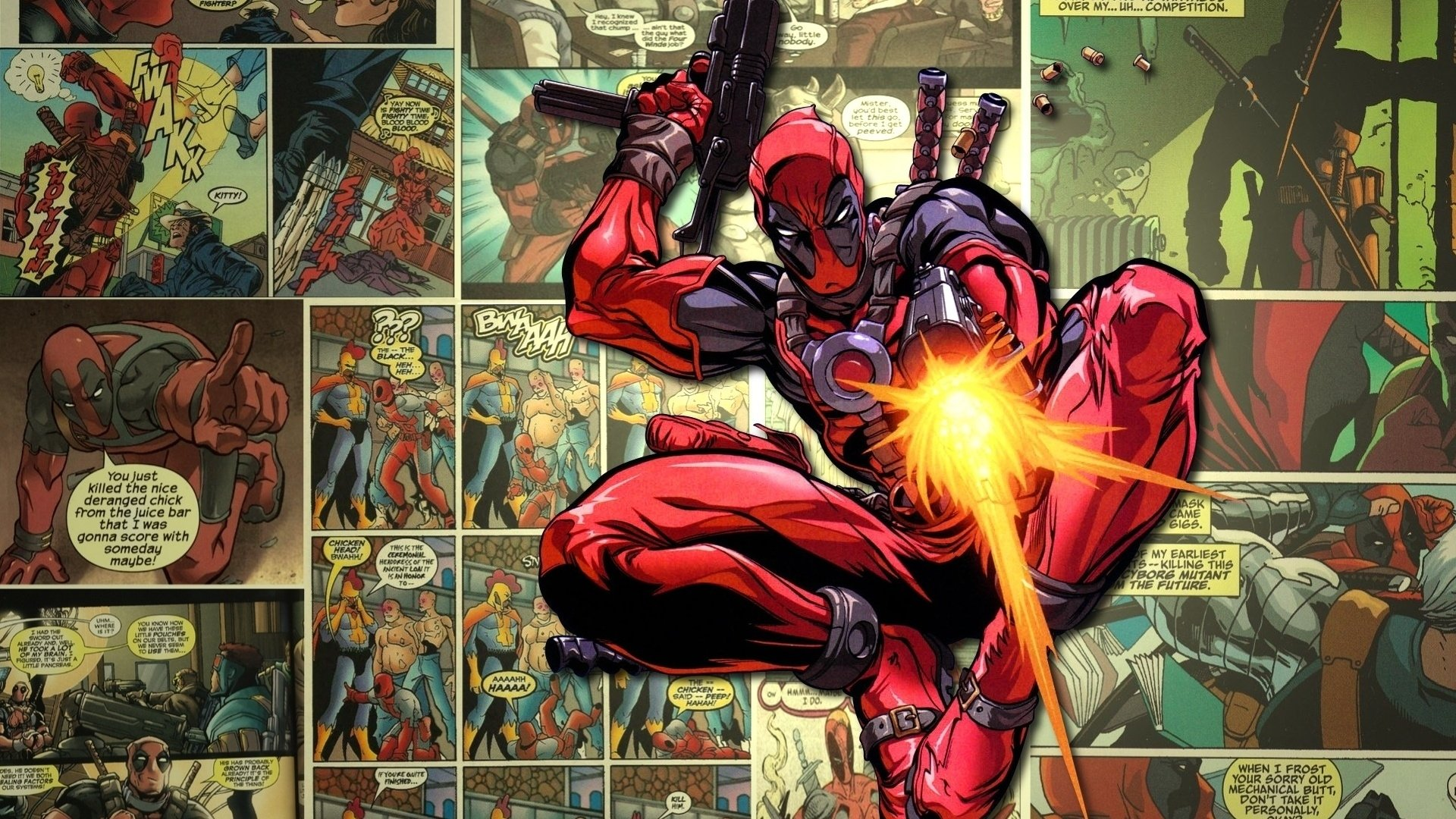 Artículos y productos de Deadpool
