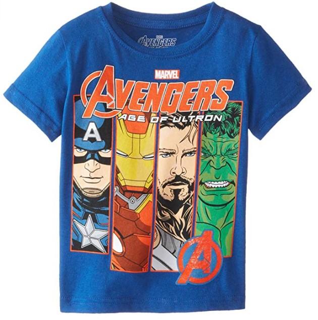 Camisetas de los Avengers