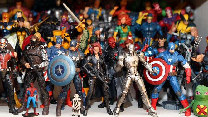 Figuras de acción Marvel