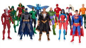 Figuras de acción de Superhéroes