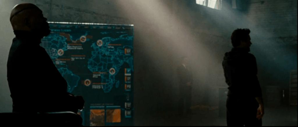 Iron Man 2 Mapa de Personajes