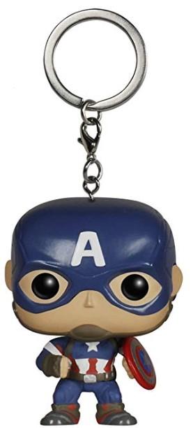 Llaveros del Capitán América
