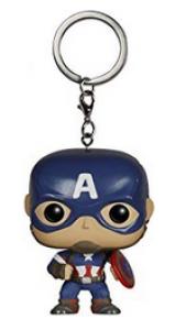 Funko Llavero Marvel Capitán América