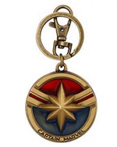 Llavero Marvel con el logo de Capitana Marvel
