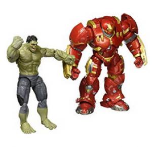 Marvel Figuras Hulk & Hulkbuster 10th Aniversario