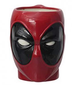 Taza de cerámica Marvel Deadpool 3D