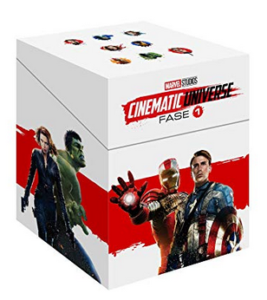 Universo Marvel Fase 1 (Paquete Especial)