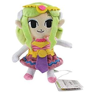 Muñeca de Peluche Princesa de Zelda