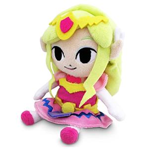 Peluche Princesa Zelda 17 cm