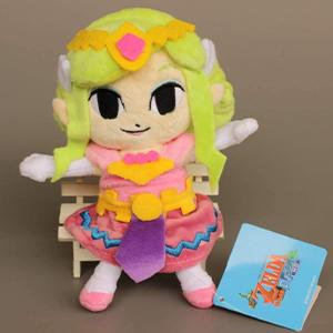 Peluche Suave de la Princesa Zelda