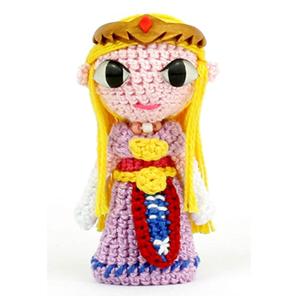 Princesa Zelda de Amigurumi Ganchillo