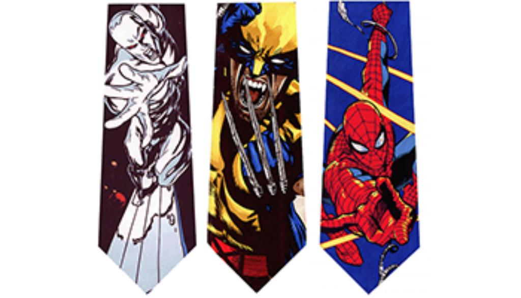 Corbatas de superheroes