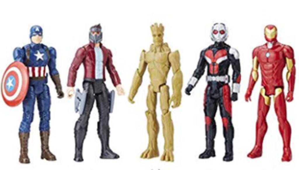 Figuras Marvel Titan Heroes Series