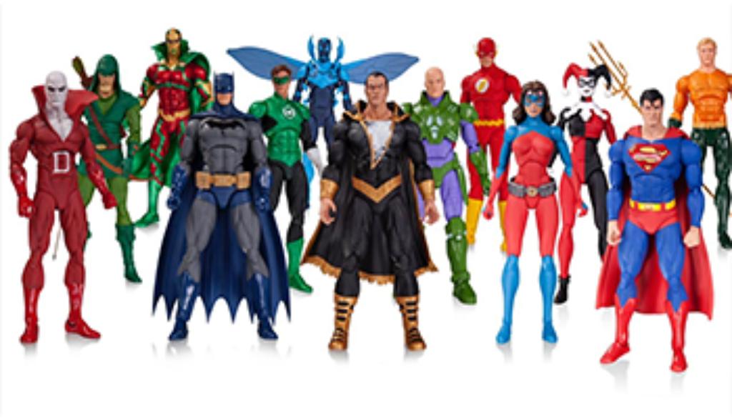 Figuras de acción de superheroes