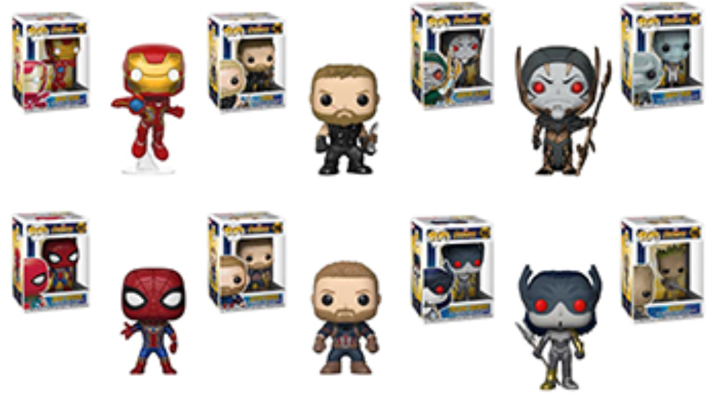 Funko pop de superheroes