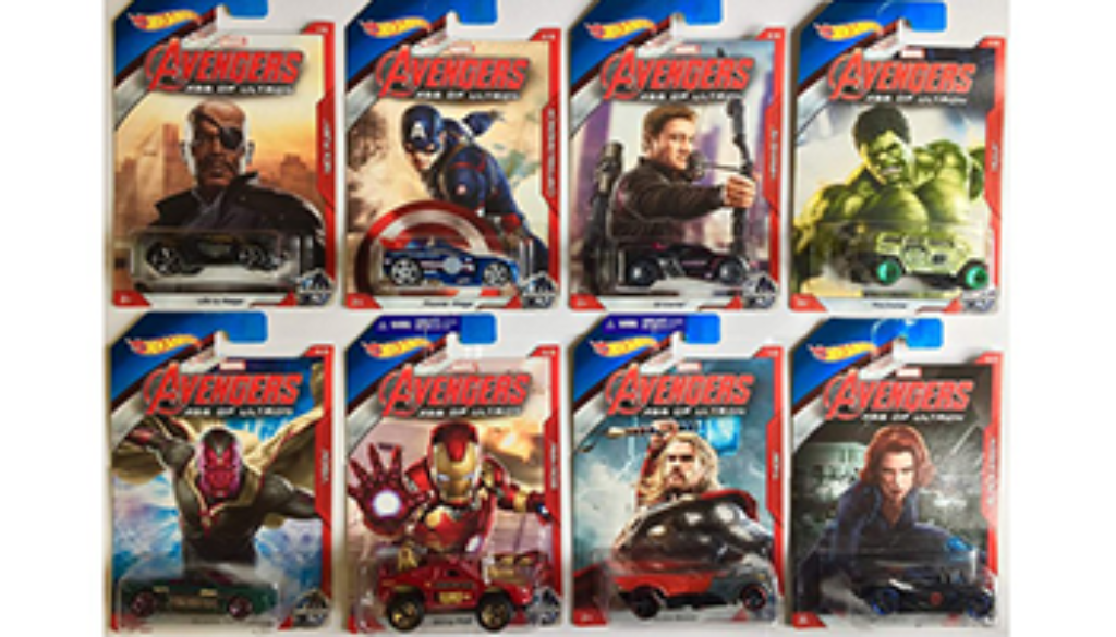 Hot Wheels de superheroes