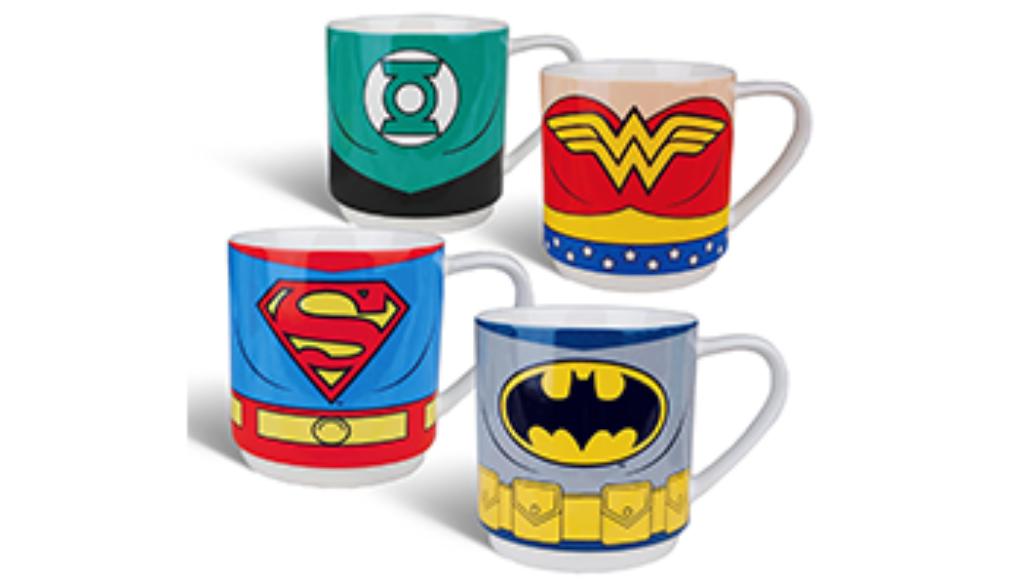 Tazas de superheroes