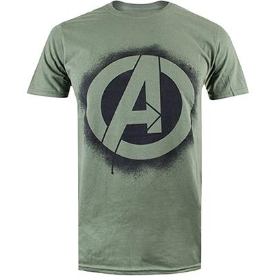 Camiseta Marvel con logo de los Avengers